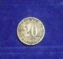 20 Pfennig / Silber Kaiserreich