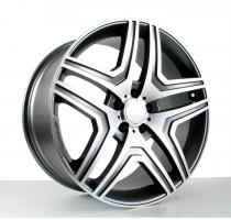 20-Zoll-AMG N10 Alufelgen Silber 5x112 ET48 Hub 66,6
