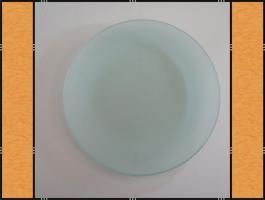Foto 4 20 x Teller, Quadrat oder Rund, Mattglas, Handarbeit (20 cm)