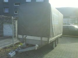 Foto 3 2000 kg Saris PKW Anhänger Hochlader Tandem 1.Hd / Tüv 08.2012