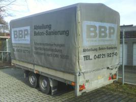 Foto 4 2000 kg Saris PKW Anhänger Hochlader Tandem 1.Hd / Tüv 08.2012
