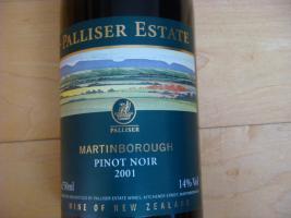 2001 Palliser Estate Pinot Noir