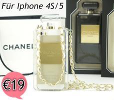 Foto 3 2014 Chanel Parfüm-Flaschen  Hülle mit kette für Iphone 4S/5