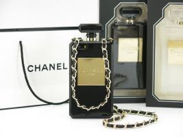 Foto 4 2014 Chanel Parfüm-Flaschen  Hülle mit kette für Iphone 4S/5