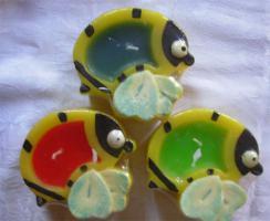 Foto 3 20x Citronella Kerze: Libelle Biene Schmetterling Fasching Party Fete Fest Frühling
