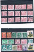 21 Kleine Briefmarkensets .