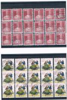 Foto 5 21 Kleine Briefmarkensets .