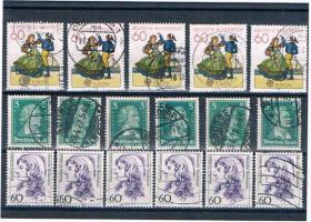 Foto 11 21 Kleine Briefmarkensets .