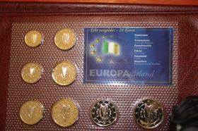 Foto 3 24 Karat Kursmünzensätze Europa ab 15 EUR +Porto