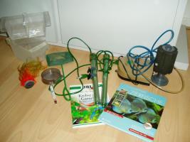 Foto 3 240 l Aquarium mit Besatz und Zubehör