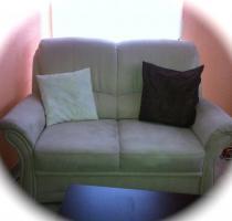 2 & 3 Sitzer Sofa in Alcantara
