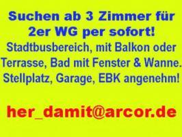2er WG sucht Wohnung ab 3 Zimmer in Bamberg Stadtbusbereich