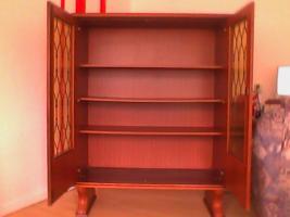 Foto 2 2tlg Wohnzimmer Schränke aus Nußbaum