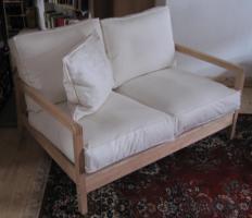 2x 2er-Sofa aus Birke, Design von Nike Karlsson