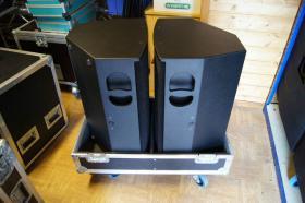 Foto 2 2x AD Systems Flex15 Lautsprecher - Topteil im Case