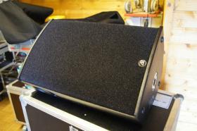 Foto 4 2x AD Systems Flex15 Lautsprecher - Topteil im Case