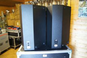 Foto 5 2x AD Systems Flex15 Lautsprecher - Topteil im Case