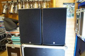 Foto 7 2x AD Systems Flex15 Lautsprecher - Topteil im Case