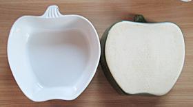 Foto 2 2x Auflaufform GRÜNER APFEL für Gratiniertes, Geschichtetes, als Salatschüssel oder f. Suppe