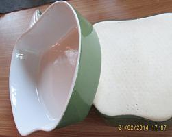 Foto 3 2x Auflaufform GR�NER APFEL f�r Gratiniertes, Geschichtetes, als Salatsch�ssel oder f. Suppe