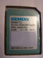 2x Siemens SIMATIC Micro Memory Card 4MB S7-300 S7 SPS