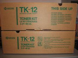 2xOriginal Toner Kyocera TK 12