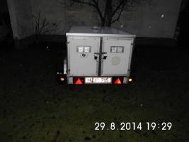 Foto 2 3 Boxen Thermo Hundeanhänger