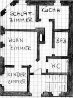 3 Raum Wohnung in Plaue