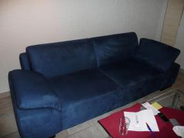 3-Sitzer Sofa dunkelblaub in TOP-Zustand