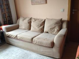 3-Sitzer-Sofa, super bequem und gemütlich in beige