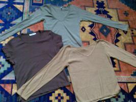 3 T.shirts  ZARA, AMISU, C&A gr S