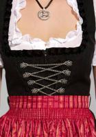 Foto 2 3 Tlg. Dirndl, schwarz-rot von Berwin & Wolff - Größe 38 - Neu & OVP