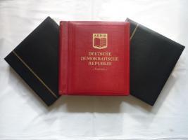 3 VD-Alben, DDR, 1949 -1990, Top, ab 1966 mit postfr. Sammlung