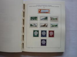 Foto 8 3 VD-Alben, DDR, 1949 -1990, Top, ab 1966 mit postfr. Sammlung
