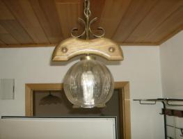 Foto 2 3 Wohnzimmerlampen natürlich auch massiv