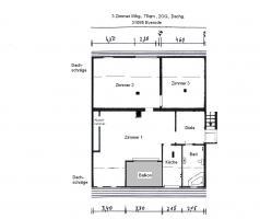 3 Zimmer - Wohnung in Everode bei Alfeld / Leine