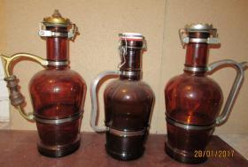 3 alte Bierflaschen (Siphons) ges. nur 20 EU