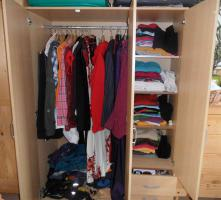 Foto 2 3 türiger Kleiderschrank Buche NB zu verkaufen
