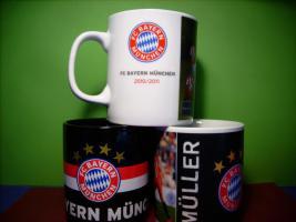 3 x Bayern München Tasse, neu.