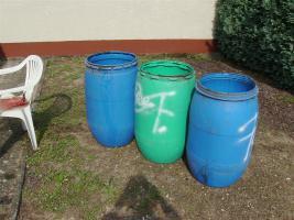 3 x Tonnen Wasser- Futter- Regen-Fässer