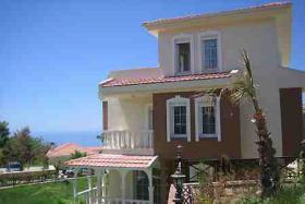 Foto 12 3+1 Luxus-Villa in Alanya-Incekum mit Meeresblick im Naturschutzgebiet
