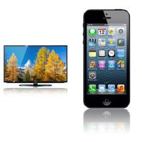 32'' LED-TV Samsung + Apple iPhone 5 32GB