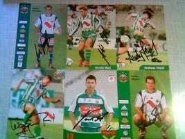 Foto 2 33 Fussball Orig Autogramme Rapid Wien