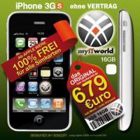 3GS - 16GB iPhone ohne Vertrag +NEU+ Garantie+Rechnung