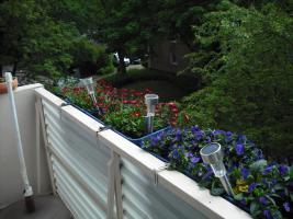 Balkon im Grünen,nicht einsehbar
