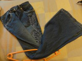 Foto 3 3er Set Jeans Weste, Hose, Shirt Gr. 158