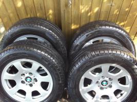 4 LM Räder BMW 5er E60 225 55 16