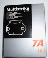 4 Original TA-Multistrike-Farbbaender f. Gabriele 9009