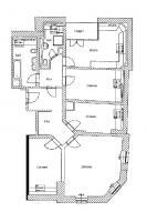 Foto 8 4-Raum-Mietwohnung mit Balkon in Striesen