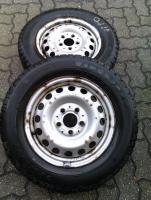 4 Stück Stahlfelgen für Mercedes-Vito